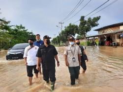 Sungai Sail Meluap, Hamdani Langsung Turun Ke Lokasi Banjir