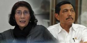 Susi Pudjiastuti dan Luhut Pandjaitan Dapat Tanda Jasa Dari Jokowi
