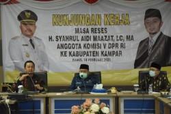 Syahrul Aidi Boyong Seluruh Balai Kementerian Mitranya ke Kantor Bupati Kampar, Sinkronisasi Program