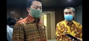 Syahrul Aidi Fasilitasi Gubri Ekspose Kondisi Riau di Senayan