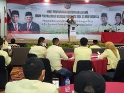 Syahrul Aidi Hadiri Rakernas DPP Apdesi, Komit Perjuangkan Pemerintah Desa