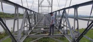 Syahrul Aidi Minta Kadis PUPR Riau Selesaikan Mangkraknya Jembatan Salo-Sipungguk