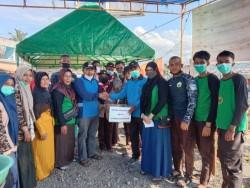 Tim Reaksi Cepat Pramuka Turun Bantu Korban Kebakaran Pasar Kuok