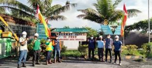 Tingkatkan Ekonomi Warga, PT MAN Perbaiki Pasar Kuliner Desa Bangun Jaya
