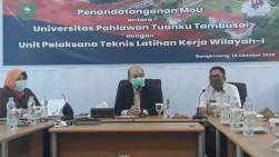 Universitas Pahlawan MoU dengan UPT-LK Untuk Persiapkan Sarjana Siap Kerja