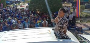 Usai Dibujuk Fahmil, Massa Aksi Membubarkan Diri Setelah Bertahan 4 Hari