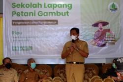 Wabup Rohil Buka Pelatihan SLPG Tingkat Provinsi Riau yang Ditaja BRGM RI