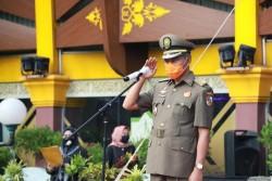 Wawako Tekankan Satpol PP Menjadi Contoh masyarakat Dalam Penegakan Disiplin