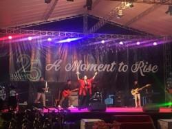 Winda Idol Memeriahkan HUT ke-74 RI di Lobam